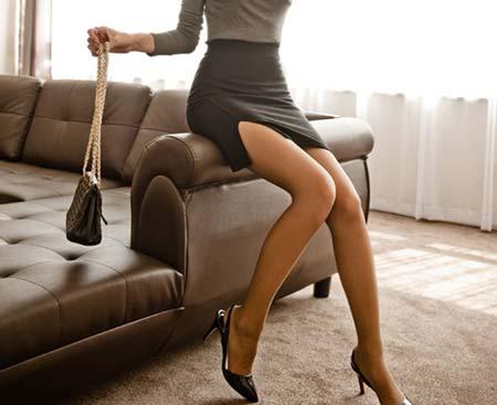 セクシーなタイトスカート