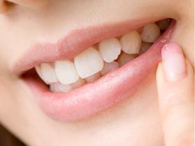歯がキレイ