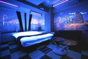 ラブホテル部屋