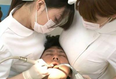 歯科衛生士美人画像