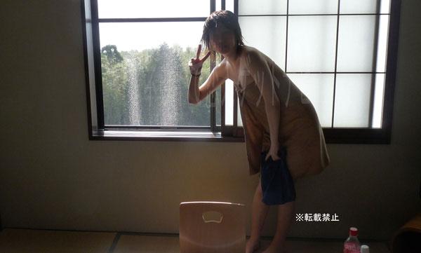 大阪子風呂上り