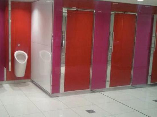 カラオケのトイレ