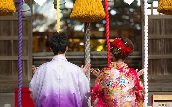 福岡流初詣スタイル「三社参り」。