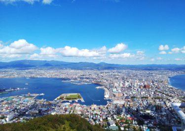 函館に到着。俺は「思い出」の北海道に上陸する