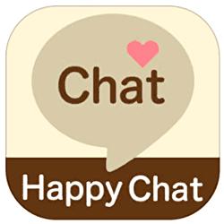 ハッピーチャット ユーザー数は少ないが無料で使えるアプリ