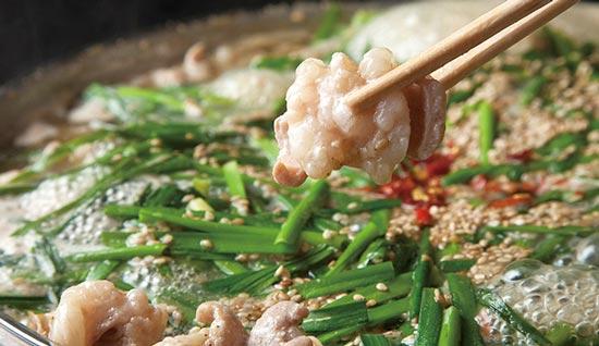 福岡住吉のおおいしのもつ鍋