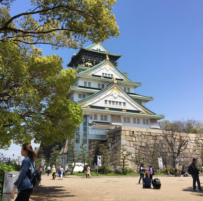 大阪城本丸2