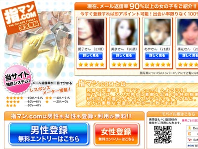 指マン.COM画像